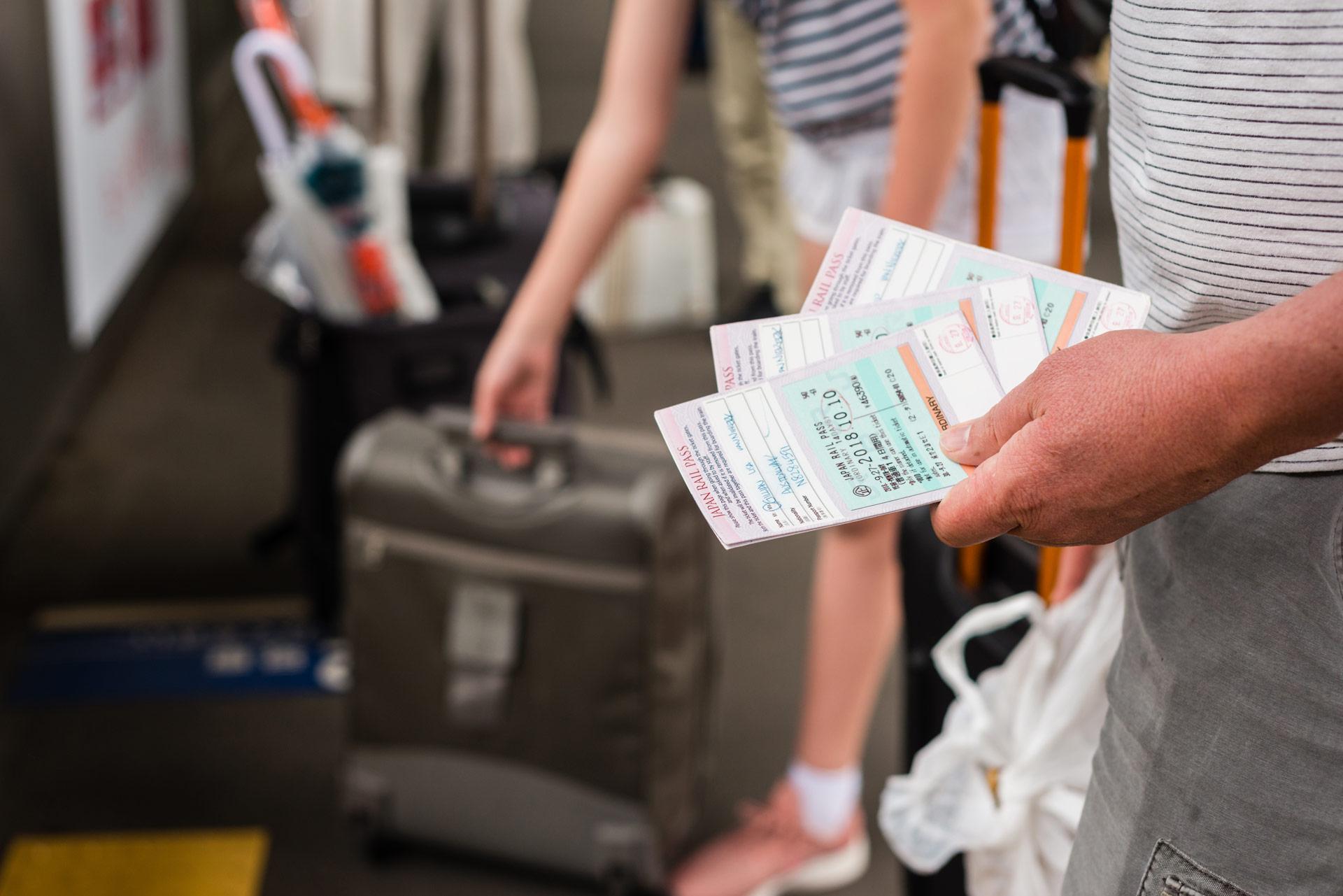 fare la valigia per viaggio in giappone